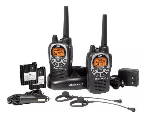 Radios midland gxt1000vp4 58km* 36 millas 2 vías