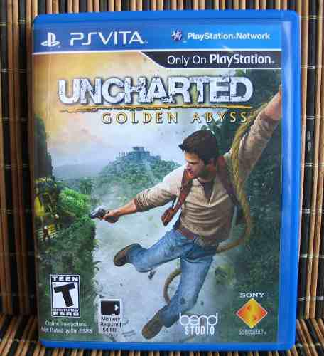 Uncharted golden abyss - ps vita aventura - sony bend studio