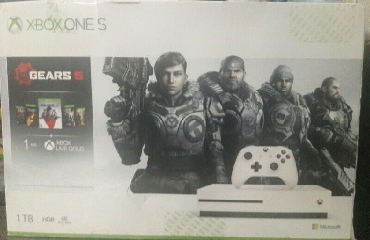 Xbox one 1tb gears 5 nuevo