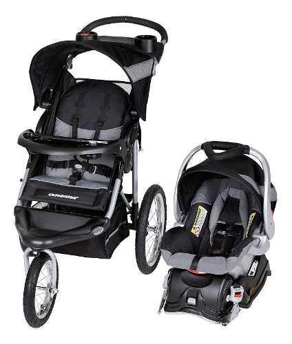 Carriola + asiento portabebé baby trend expedition -blanco
