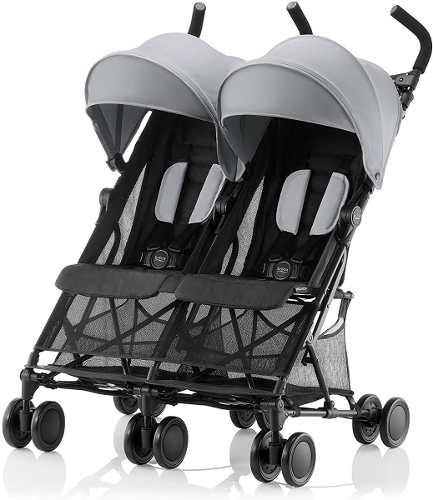 Carriola doble gemelar para bebés compacta britax holiday²