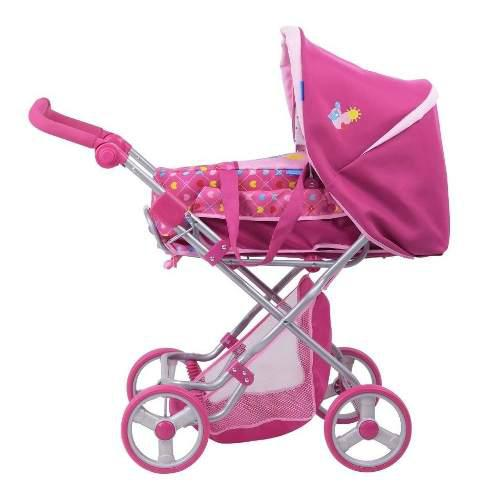 Carriola muñeca ajustable porta bebe niñas envio gratis