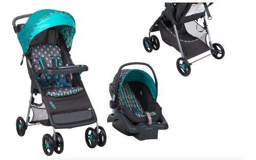 Cosco babideal carriola + porta bebé carro plegable xtreme