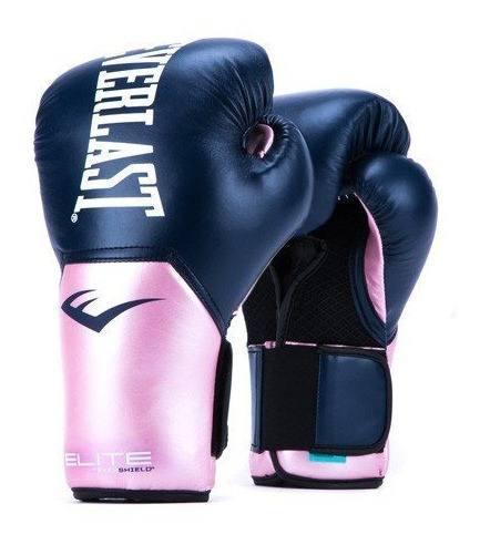 Guantes de box everlast pro style elite 12 oz mujer rosas