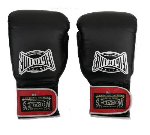 Guantes de box kick boxing morales 10 a 16 oz. indeformables