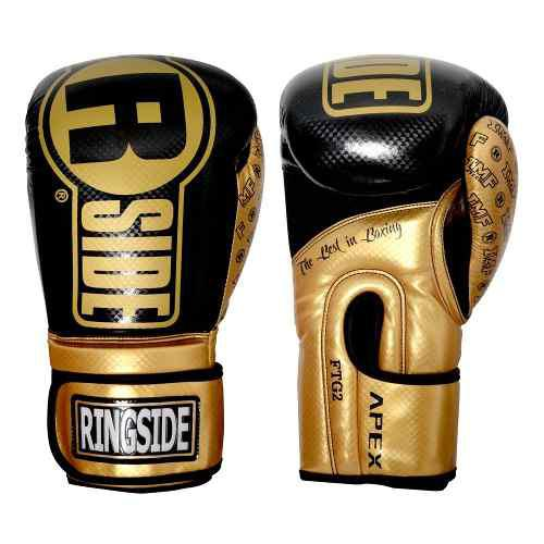 Guantes ringside original boxeo flash apex sparring dorado