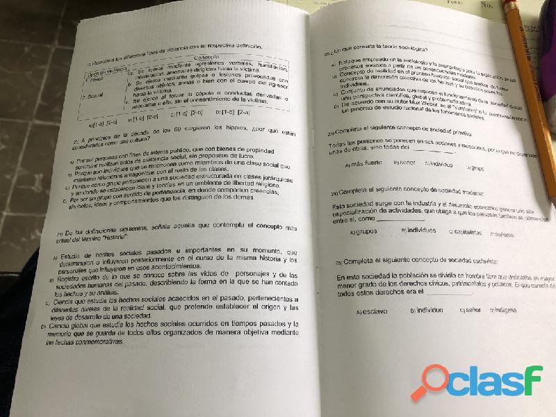 Examenes prepa abierta plan 22 modulos 2020