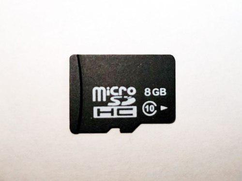 100 memorias microsd 8gb clase10 genérica a granel