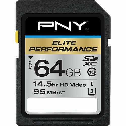 Memoria flash 64gb pny elite high speed sdxc class10 uhs
