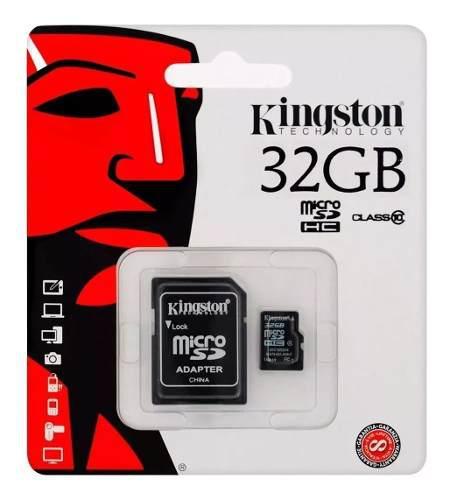 Memoria micro sd kingston canvas select 32gb c10 c adaptador