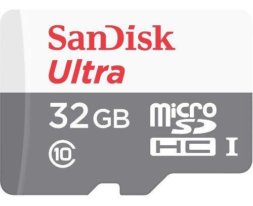 Memoria micro sd sandisk sdsquns gn3ma 32gb, clase 10