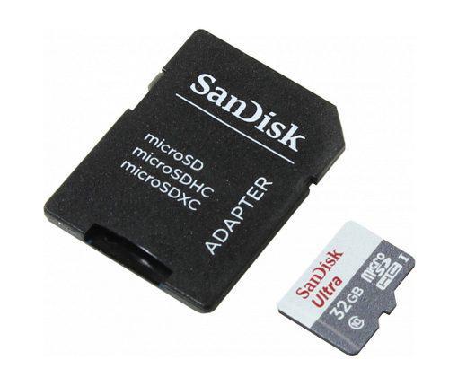 Memoria micro sd sandisk ultra microsdhc 32gb clase 10 /v