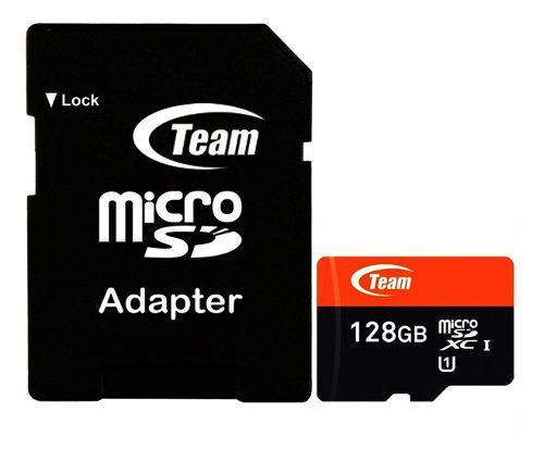 Memoria micro sdxc 128gb teamgroup clase 10 full hd