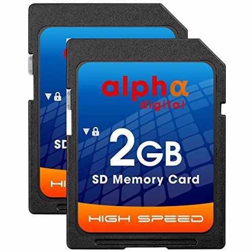 Estándar 2GB Seguro Digital Tarjeta de Memoria SD Lote 2GB para Cámara Nuevo
