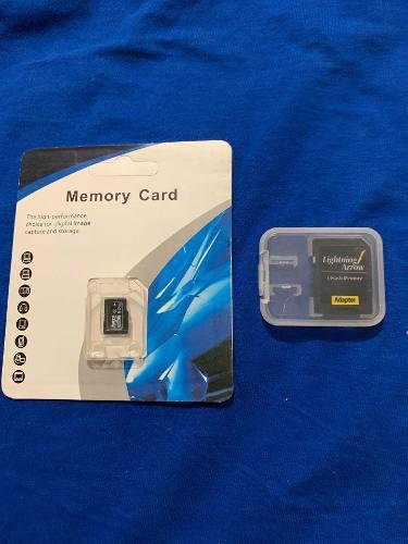 Memorias sd 512gb nuevas con adaptador gratis