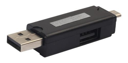 Micro usb tf /micro sd lector de tarjetas de memoria otg hub