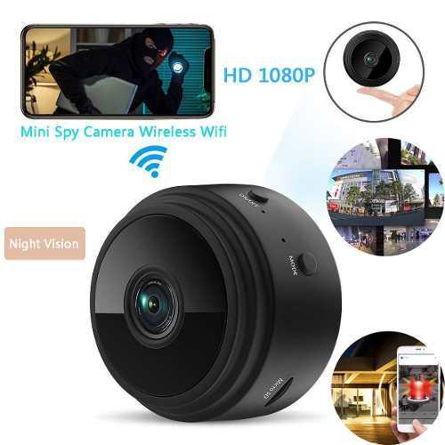 Mini cámara de red inalámbrica 1080p-sin tarjeta de