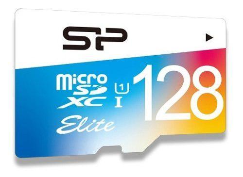 Silicon Power Micro Sd 128 Clase 10 Uhs-1 Sd Elite Color