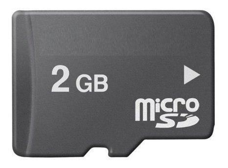 Tarjeta memoria micro sd top one 2 gb empaquetada