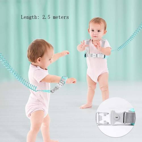 Arnés con correa para bebés y niños seguridad al caminar