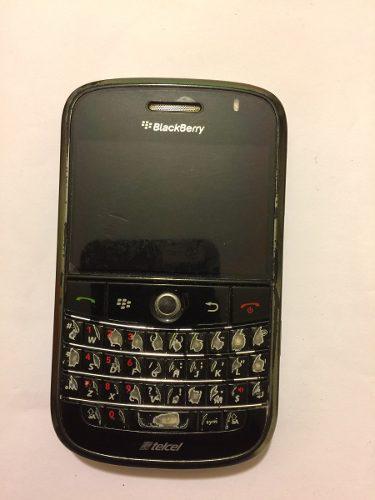 Celular blackberry bold 9000 para uso o refacciones sin pila
