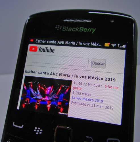 Celular blackberry clasico (telcel) nuev0