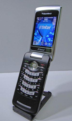 Celular blackberry flip 8220 (telcel) nuev0
