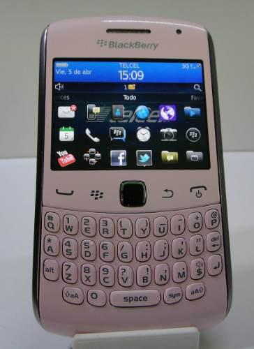 Celular blackberry teclado qwerty (telcel) semi-nuevo
