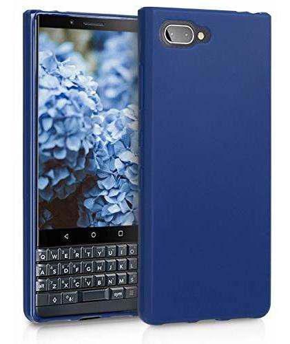 Kwmobile carcasa de silicona y tpu para blackberry keytwo le