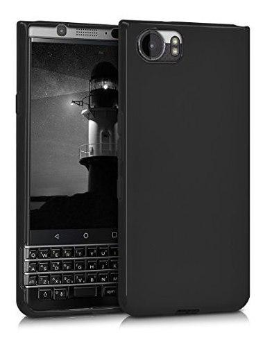 Kwmobile crystal - carcasa para blackberry keyone (key1 sili