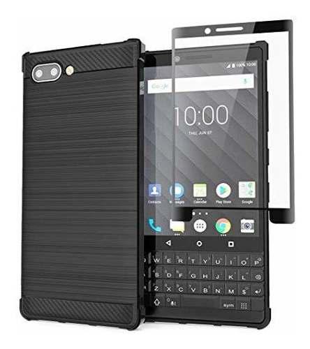 Olixar blackberry key2 - protector de pantalla para blackber