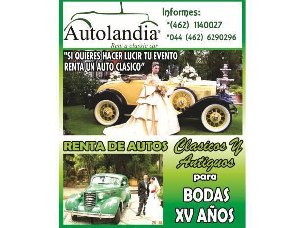 Renta de autos clasicos y carcachitas bodas xv años