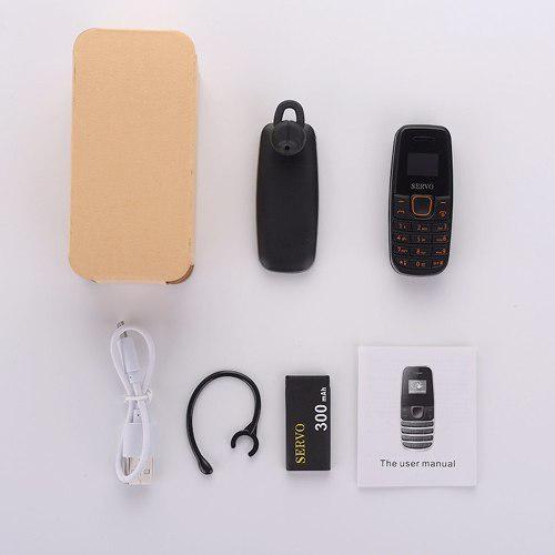 S09 dialer mini teléfono móvil 0.66 pulgadas pantalla