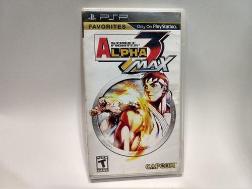 Street fighter alpha 3 max psp juegazo en the next level!!!