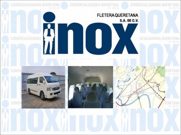 Transporte de personal inox