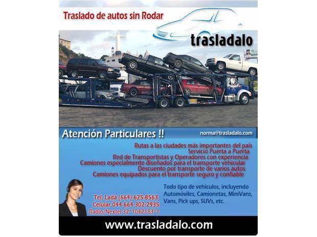 Traslado de autos / tijuana - hermosillo