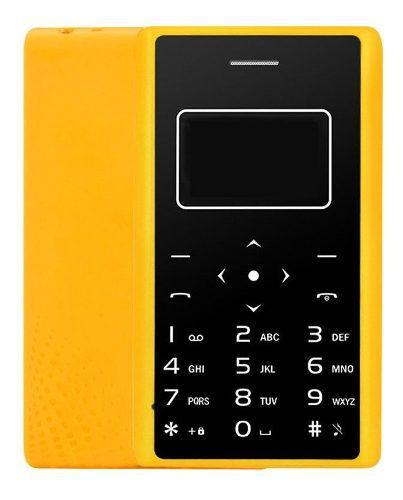 Ultra delgada tarjeta de teléfono móvil mini bolsillo