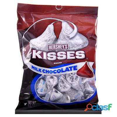 Trabaja empacando chocolates kisses
