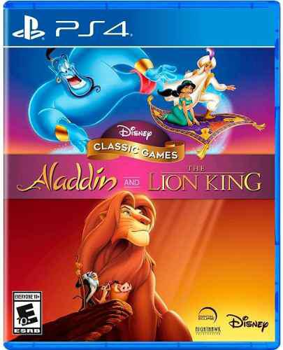 Disney classic games:aladdin & the lion king ps4