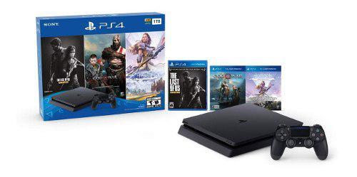 Playstation 4 hits 1tb con 3 juegos - bundle edition /u