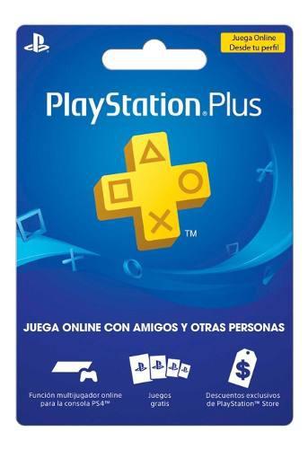 Playstation plus 6 meses para jugar online ps4 ps3