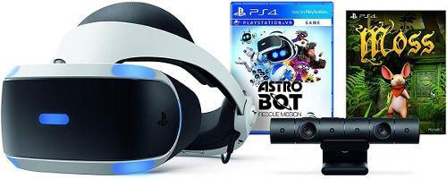 Playstation vr ps4 v2 astro bot y moss, camara nuevo sellado