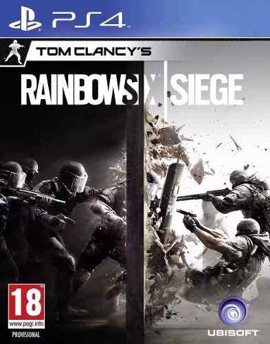Tom clancy's rainbow six siege - playstation 4 nuevo sellado