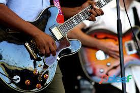 Clases de guitarra electricoa y bajo electrico