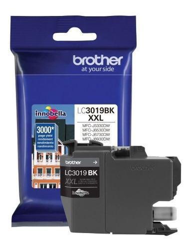 Cartucho brother lc3019bk negro alto rendimiento 3000 pag