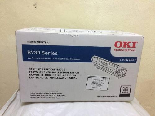 Cartucho de toner oki b730 original nuevo sellado