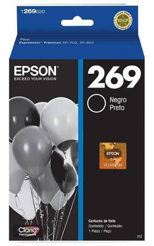 Cartucho epson 269 para impresora xp-702 colores
