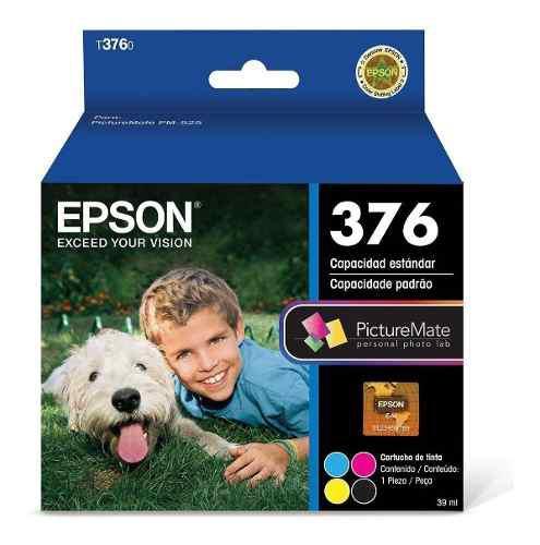 Cartucho tinta fotografico epson 376 picturemate 525 series