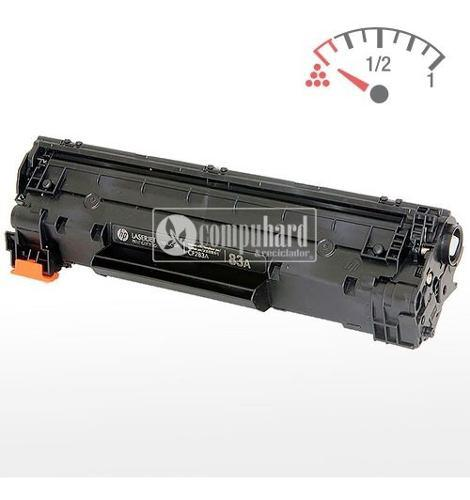 Cartucho toner hp cf283a (hp 83a) vacio virgen