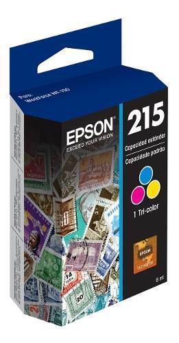EPSON T215 CARTUCHO DE TINTA P/WF-100 TRI-COLOR segunda mano  México (Todas las ciudades)